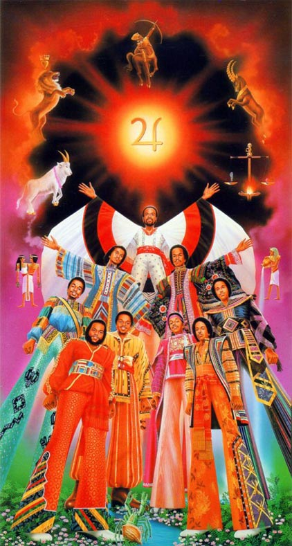 Earth Wind And Fire Tour Poster